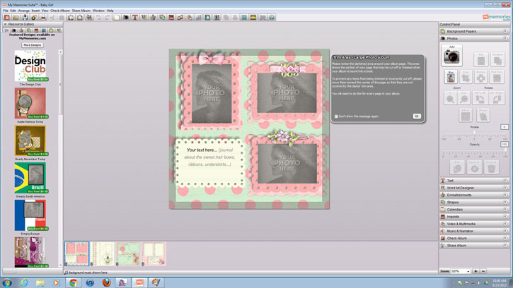 how to digital scrapbook