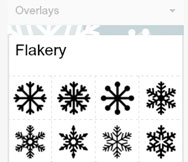 adding snowflakes to your digital images