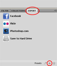 how to upload to facebook and flickr using adobe bridge cs5