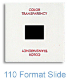 110 Format Film Conversion, Digital, Process, Scanning