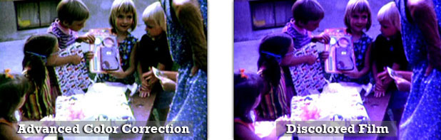Movie Film Conversion Digital | Color Correction