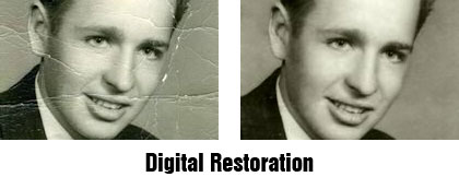 digital restoration of photos