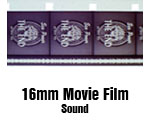 16mm Movie Film Conversion Sound