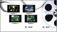 standard definition dvd, SD DVD, DVD Menu Example, 8mm, Super 8, 16mm to DVD SD