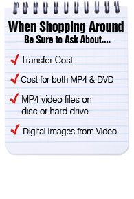 what to know when converting 35mm video tapes to digital