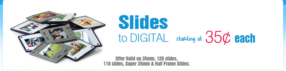 slides converted to digital sale price discount