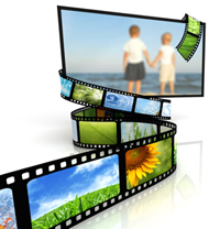 DVD Video TV Slideshow from your digital slides, negatives, photo