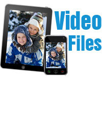 movie film to mp4 video file