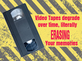 How to Preserve Your Video Tapes | Transfer Your Video Tapes
