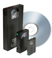 video tape conversion to dvd blu-ray mp4 file